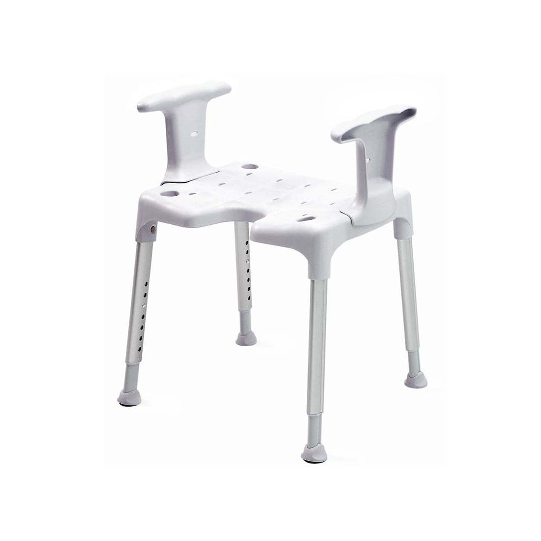 Shower Stool With Sides Support